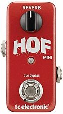TC Electronic*HOFREVERBMINI*Reverb Signal Path Guitar Bass Pedal FREE 2 DAY NEW