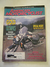 March 1996 American Motorcyclist Magazine, Special Rule Book Insert (BD-17)