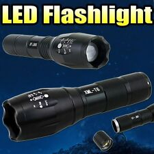 Zoomable 3800Lm Lumens LED Flashlight Hand Torch XML T6 Hiking Camping Light S