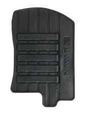 4x Nissan Navara Genuine Car Floor Mats Tailor Rubber Front+Rear Set KE7585X489