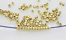 Bulk 100/500Pcs Fashion Loose Cube Tibetan Silver Spacer Beads Jewelry Findings