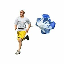 "WORKOUTZ 72"" INCH SPEED CHUTE (X LARGE) PARACHUTE RUNNING SPRINTING RESISTANCE"
