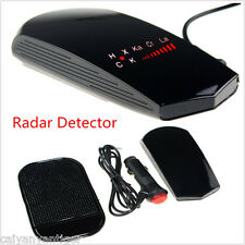 Car Radar Laser Camera Detector Full Band Speed Safety Alert Voice + LCD Display