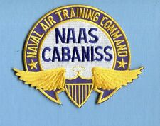 NAAS NAVAL AUXILIARY AIR STATION CABANISS TEXAS US NAVY Base Squadron Patch
