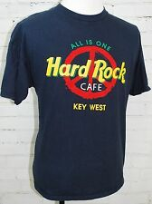 Hard Rock Cafe All Is One / Peace Sign Key West FL Short Sleeve T-Shirt Mens XL