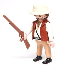 Playmobil Figure Jungle Adventure Explorer w/ Tattered Hat Rifle 3042