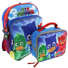 PJ Masks 14 inch Backpack and Lunch Box Set PMKIT102 Disney Junior