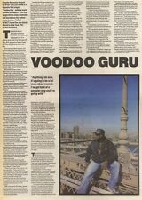 15/4/89Pgn47 Article & Picture 'voodoo Guru' A Guy Called Gerald Is A Hot Name I
