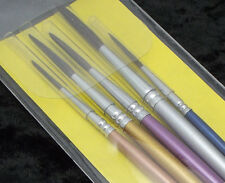 Peter Mc Grain GENUINE OXHAIR TRACING BRUSH SET 4 Pieces Glass Painting brushes