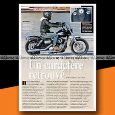 ★ HARLEY 1584 DYNA STREET BOB ★ 2009 Article presse Moto Original Article #a1305