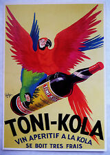 CPM REPRODUCTION AFFICHE ANCIENNE / TONI-KOLA / ROBY'S