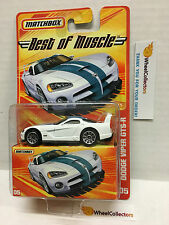 Dodge Viper GTS-R 05 * WHITE * Matchbox Best of Muscle * H50