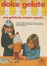 X9920 Dolce Gelato - HARBERT  - Pubblicità 1976 - Advertising
