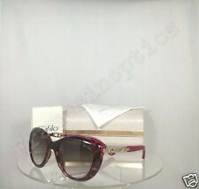 New Authentic Jimmy Choo WIGMORE/S BMKK8 Sunglasses  Havana Pink Frame Wigmore