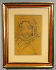 August Legras c.1880 portrait black North African boy Dutch artist Netherlands