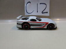 HOT WHEELS 2010 MYSTERY CAR DODGE VIPER GTS - R  LOOSE