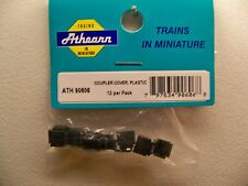 ATHEARN REPLACEMENT PART 90606 12 PACK PLASTIC COUPLER COVER  NEW 1ST CLS S&H