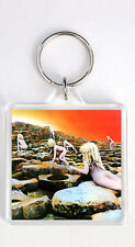 LED ZEPPELIN - HOUSES OF THE HOLY LP COVER KEYRING LLAVERO