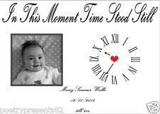 New Baby - The Day You Were Born - Personalised Gift