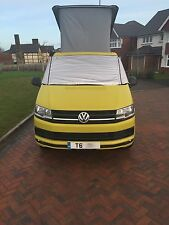 VW T6 California Transporter Caravelle Thermal Windscreen Cover - Colour Silver