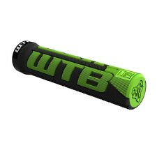 WTB Commander PadLoc Grip, Black/Green-135mm-Lock-On Mountain Bike Grips