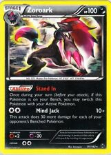 Pokemon XY BREAKthrough Zoroark 91/162 Holo Rare Card