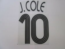 J Cole no 10 Chelsea Champions League Football Shirt Name Set Kids Youth