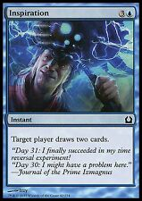 Inspiration EX/NM x4  RtR Return to Ravnica MTG Magic Cards Blue Common