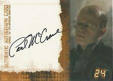 "24 / Twenty Four Season 5 - Paul McCrane ""Graem"" Autograph Card"