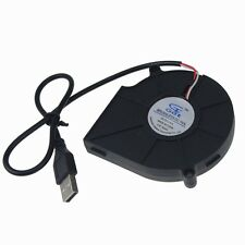 Brushless DC Cooling Blower Fan 75mm 5V 75x75x15MM for Computer PC Case USB new