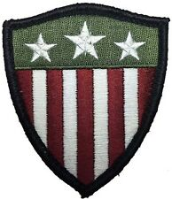 Captain America shield Stars Stripes US flag morale tactical HOOK LOOP Patch