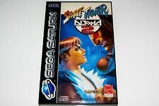 STREET FIGHTER ALPHA 2 - SEGA - SATURN - COMPLET