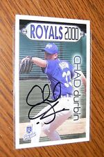 CHAD DURBIN SIGNED AUTOGRAPHED 2000 KANSAS CITY ROYALS POLICE CARD