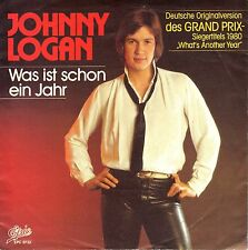 "7"" Johnny Logan – Was ist …(What's Another Year = German Version) /  ESC // 1983"