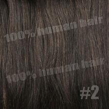 Full Head Straight Weft Clip in Hair Extension Remy Human Hair Extensions 100g