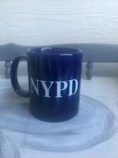 Coffee Cup Mug NYPD New York Police Department