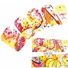 Tattoo Nail Art Aufkleber Colorful Bunt Muster Sticker Neu!