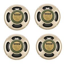 Descuento PACK x4 25w Celestion G12M Greenback guitarra altavoces 16ohm