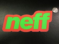 NEFF HEADWEAR SURF SNOWBOARD SKATE DECAL STICKER