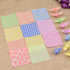 3 Packs Luminous Origami Paper Papercranes Good Luck Peace Wish Gifts