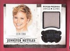 JENNIFER NETTLES SUGARLAND WORN RELIC SWATCH MATERIAL CARD PANINI COUNTRY MUSIC