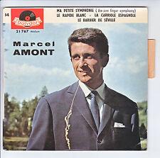 """Marcel AMONT Vinyle 45T 7"""" EP MA PETITE SYMPHONIE - POLYDOR 21767 Languette"""