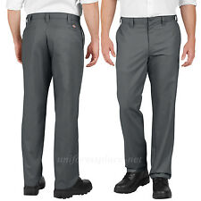 Dickies Work Pants Industrial Flat Front LP810 Relaxed fit CHARCOAL BLACK KHAKI