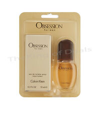 OBSESSION by Calvin Klein Cologne for Men Mini EDT 0.5  .5 Fl Oz
