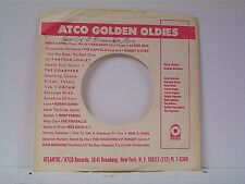 3-ATCO GOLDEN OLDIES  COMPANY 45's SLEEVES  LOT # A-715