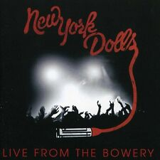 Live From The Bowery - New York Dolls (2012, CD NIEUW)2 DISC SET