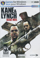 KANE & LYNCH DEAD MEN - Action PC Game from Hitman Series Creators - NEW in BOX!