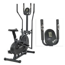 Elliptical Bike 2 IN 1 Cross Trainer Exercise Fitness Machine Upgraded Model NEW