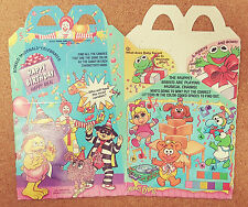 MCDONALDS Happy Meal Toy Muppet Babies SIRENA Dalmations-solo la scatola (vuota) NUOVO