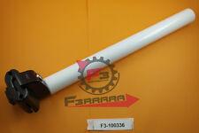 F3-100336 Canotto tubo Sella mm 25,4 X 300 Alluminio Bianco Bicicletta  CITY